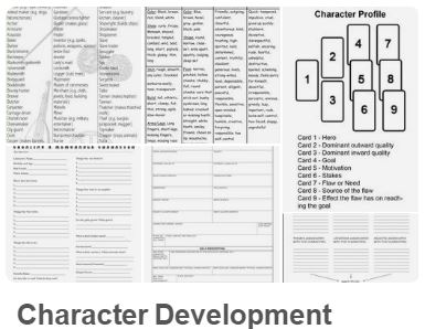character development, character profile, writing tips
