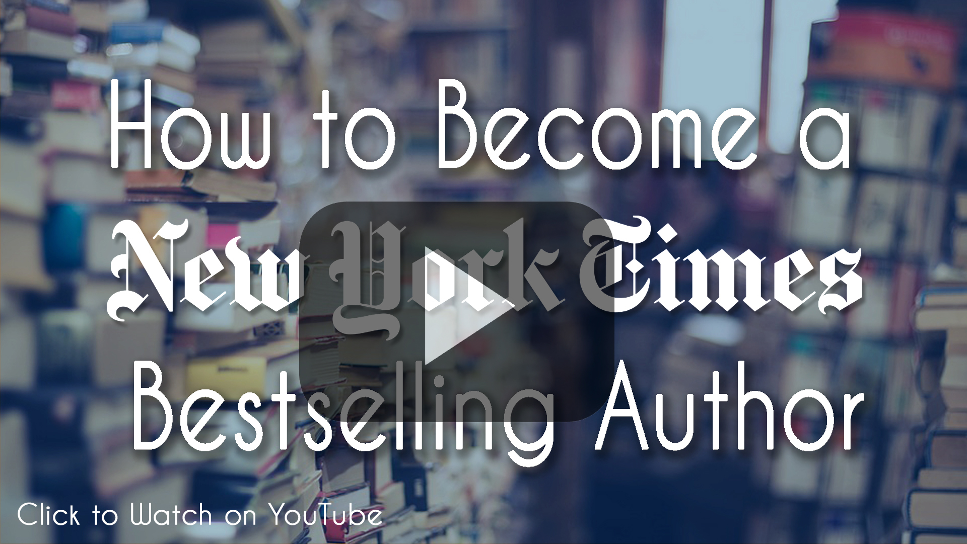 new york times bestselling author how to become