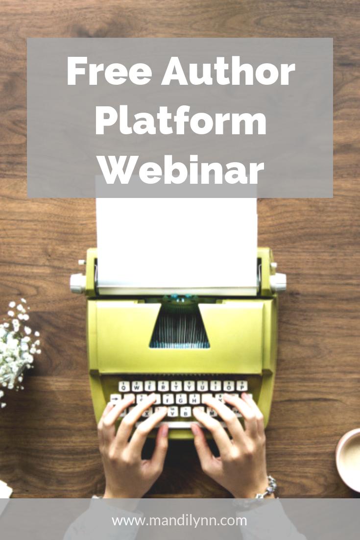 Free Author Platform Webinar & Indiecember